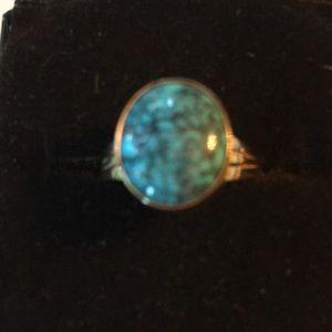 Vintage 14k Gold Native American Ring